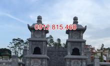 Mẫu mộ tháp đá đẹp bán tại Cà Mau – Mộ đá tháp xây để tro cốt