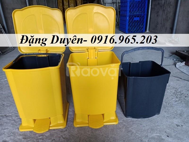 Bán thùng rác nhựa 20 lít chất lượng tại TP HCM