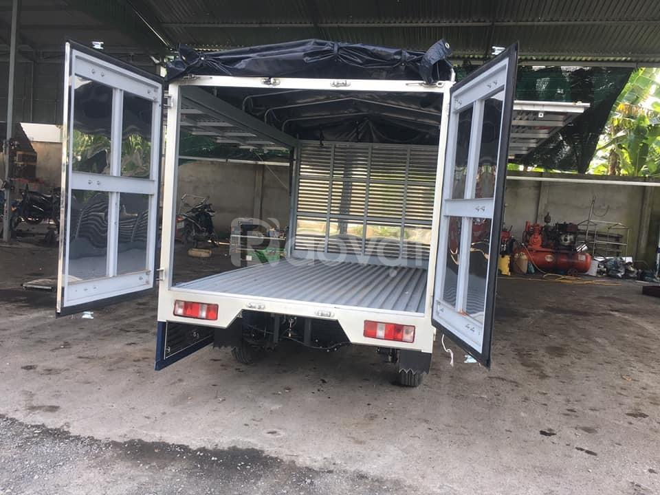 Xe tải 1 tấn thùng mui bạt cánh dơi
