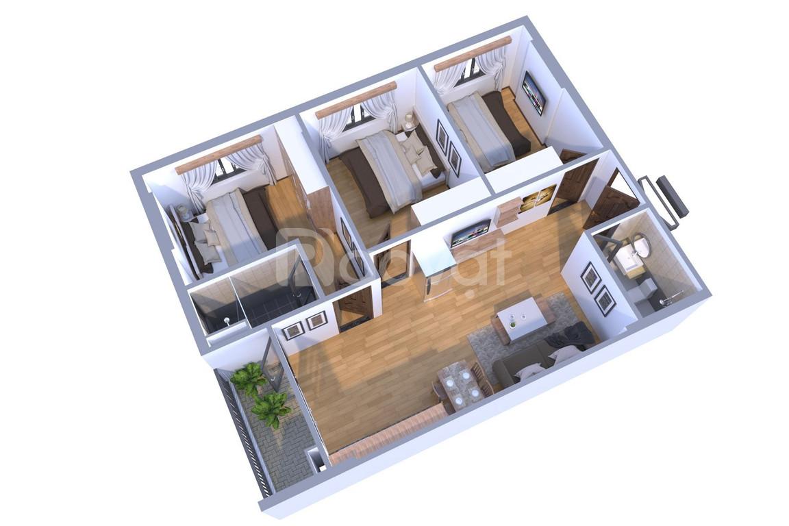 Chỉ từ 212tr sở hữu căn hộ 2 phòng ngủ chung cư TP. Bắc Giang