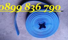 Ống bạt PVC cốt dù bơm nước, cát, sỏi, bùn.