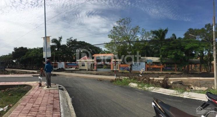 Đất nền thổ cư, sổ hồng riêng, 90m2 giá 15 triệu/m2 hạ tầng hoàn thiện