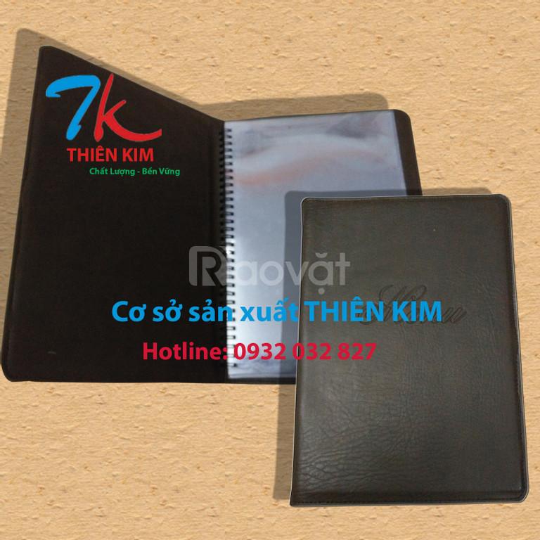 Đặt menu tại tp.hcm, đặt menu bìa da, bìa folder da, bìa trình ký da