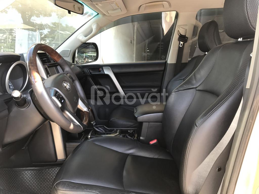 Toyota Landcuise Prado TXL 4X4 động cơ xăng 2.7L , sx 2010, màu ghi