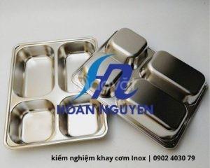 Dịch vụ kiểm nghiệm sản phẩm khay cơm Inox