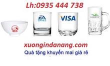 In logo lên bộ ly thủy tinh,gốm sứ bát tràng tại Quảng Ngãi