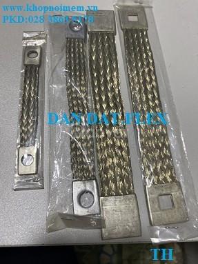 Nhập kho:khớp nối mềm inox-khớp nối mềm nối bích-dây đồng bện tiếp địa