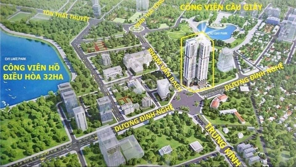 Chung cư CC giá ưu đãi ngay trung tâm Cầu Giấy (ảnh 4)