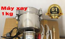 Máy xay bột khô siêu mịn từ các nguyên liệu khô loại 1000g/lần xay