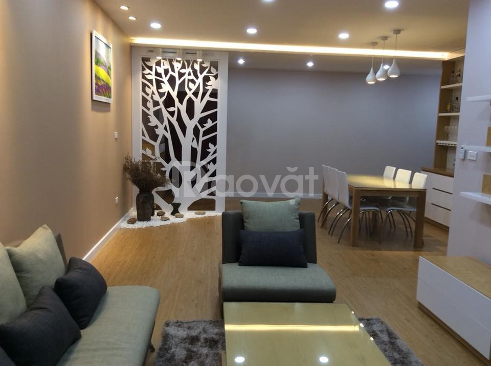 Căn hộ 2 phòng ngủ nội thất đầy đủ, tầng cao thoáng mát, tại An Bình