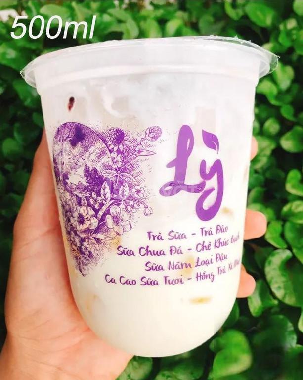 In ly nhựa giá rẻ ở Đà Nẵng, miễn phí thiết kế logo