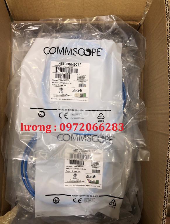 Dây nhảy patchcord Commscope Cat6 5feet màu Blue
