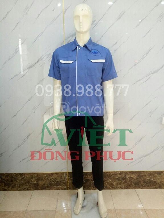 Nhận may quần áo công nhân giá rẻ, chất lượng, nhiều mẫu với mọi mức  (ảnh 3)