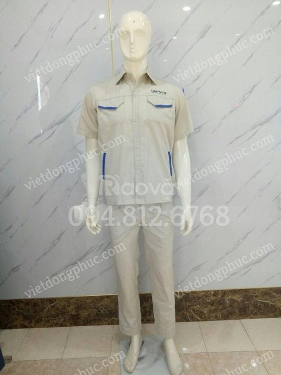 Nhận may quần áo công nhân giá rẻ, chất lượng, nhiều mẫu với mọi mức  (ảnh 1)
