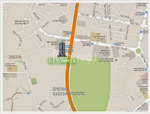 Tôi cần bán nhanh căn hộ 2615, DT: 131m2 CC FLC 36 Phạm Hùng, giá 28tr