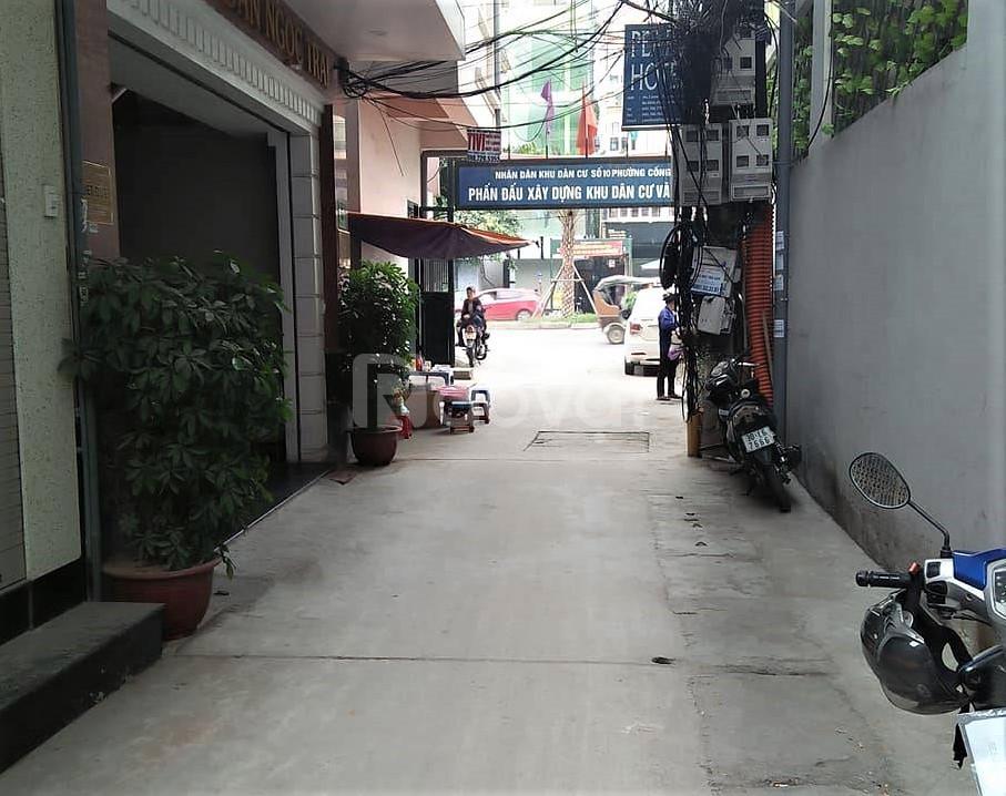 Bán nhà riêng phường Hoàng Văn Thụ, Q. Hoàng Mai, 32m, 2.75 tỷ.