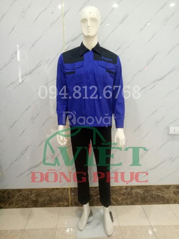 Nhận may quần áo công nhân giá rẻ, chất lượng, nhiều mẫu với mọi mức  (ảnh 4)