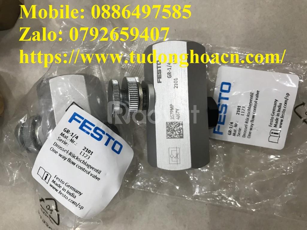 Van điều khiển lưu lượng Festo Gr-1/4 - Cty TNHH Natatech