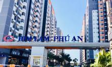 Cho thuê căn hộ Him Lam Phú An, Q9, 2PN, full nội thất, giá 8 triệu.