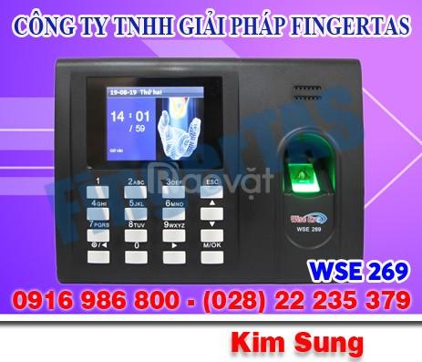 Máy chấm công vân tay wse269 giá rẻ