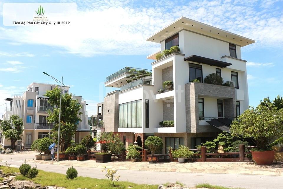 Khu đô thị Phú Cát city giá đất đang tốt nhất thị trường đất ven đô
