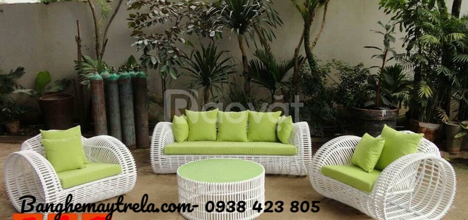 Bàn ghế sofa ngoài trời