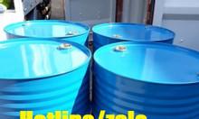 Phuy sắt hóa chất 220l; thùng phuy sắt 220l đựng xăng dầu mới