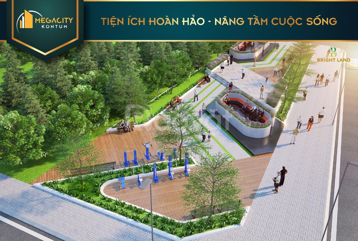 Đầu tư cuối năm với 480 triệu khu đô thị trung tâm thành phố KonTum