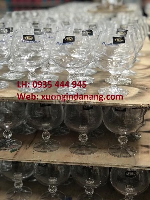 Xưởng in logo ly thủy tinh giá rẻ giá rẻ tại Quảng Ngãi