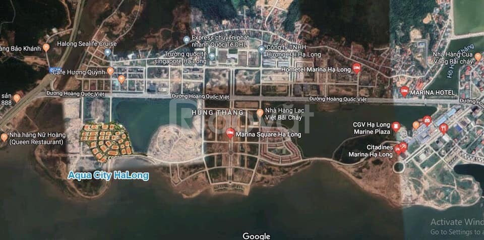 Shophouse mặt biển Aqua City Hạ Long