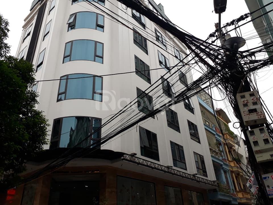 Bán nhà ngõ 235 Trần Quốc Hoàn oto kinh doanh 7 tầng, MT6.5m