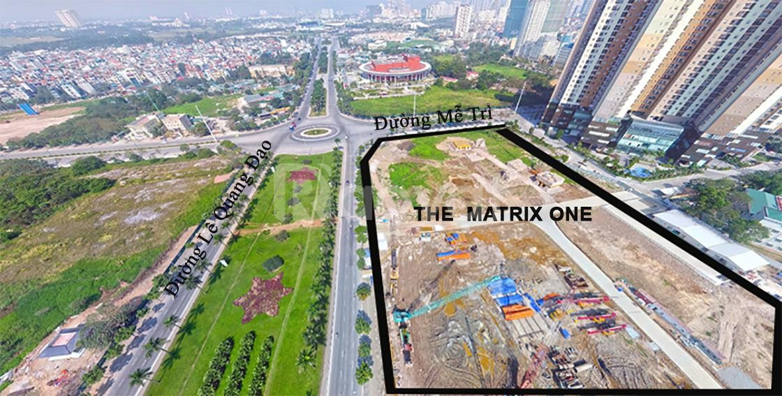 Quỹ căn, bảng giá chung cư The Matrix One - Mễ Trì, chiết khấu 10%