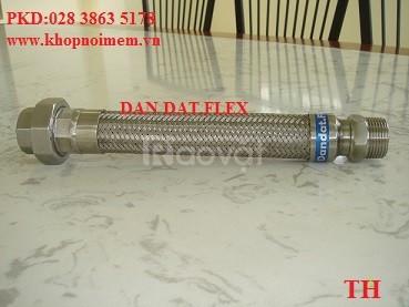 Mối nối mềm inox-khớp nối cao su mặt bích inox-ống mềm pccc.