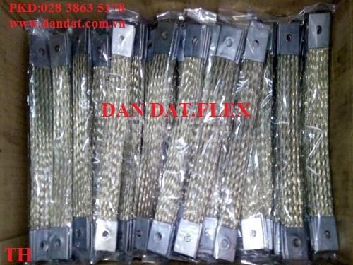 Ống nối mềm có lưới bện inox,khớp nối mềm lắp bích, thanh cái đồng bện