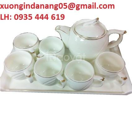 Ấm trà Bát Tràng quà tặng khách hàng dịp Tết tại Huế