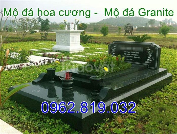 Địa chỉ làm mộ đá hoa cương nguyên khối - Mộ đá granite uy tín