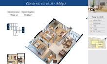 Căn hộ số 06 tòa R2, cửa chính Tây Nam chung cư Goldmark City