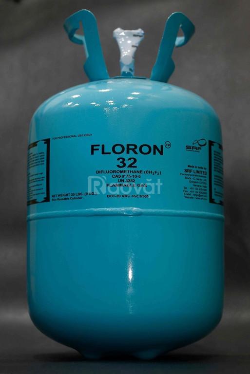 Gas lạnh Floron R32 9KG, gas floron 22, gas floron 404, gas ssb 404