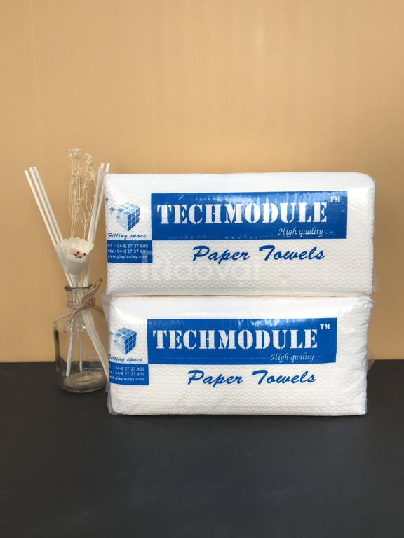 Giấy lau tay Techmodule: không mủn - không dính - tiết kiệm
