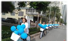Tổ chức chạy roadshow và trang trí xe đạp roadshow