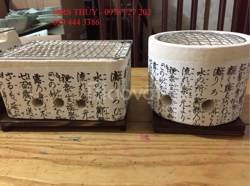 Bếp nướng Nhật Bản, lò nướng than Nhật, bếp nướng Nhật