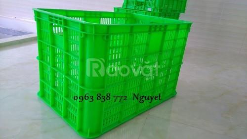 Rổ nhựa công nghiệp dùng hàng hóa