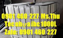 Báo giá bồn nhựa ibc 1000L, tank nhựa cũ 1000 lít cũ, thùng nhựa IBC
