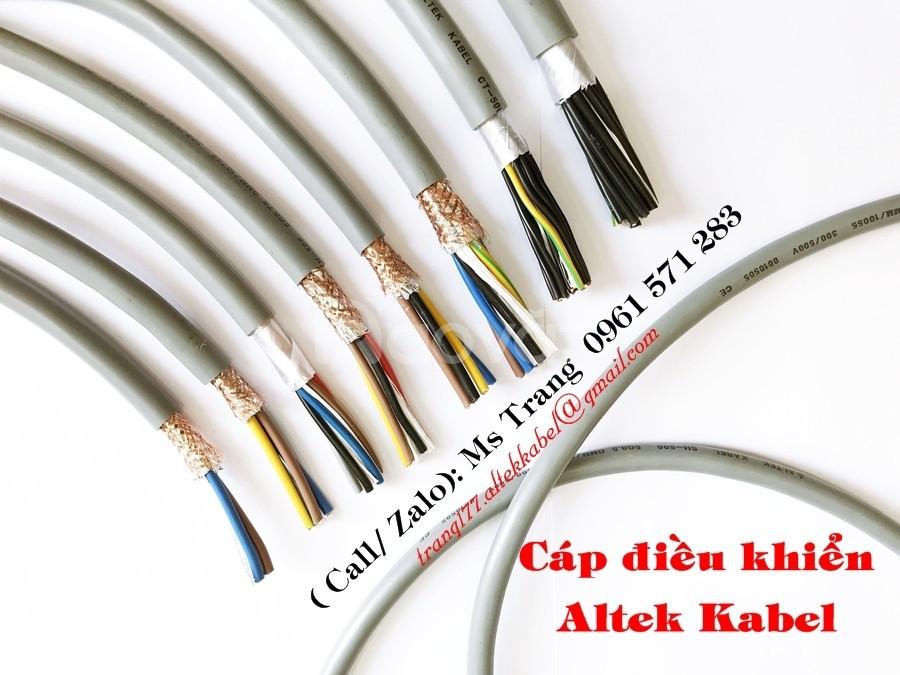 Phân phối độc quyền cáp điều khiển nhập khẩu Châu Âu- Altek Kabel