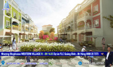Bán Shophouse Western Village IV-SH14.03, hai mặt tiền, FLC Quảng Bình