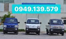 Bán xe tải Dongben 1021 870kg thùng lững thùng mui bạt tại Cần Thơ