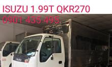 ISUZU 1T9 KM trước bạ, máy lạnh, 200 lít dầu, 2 vỏ xe...