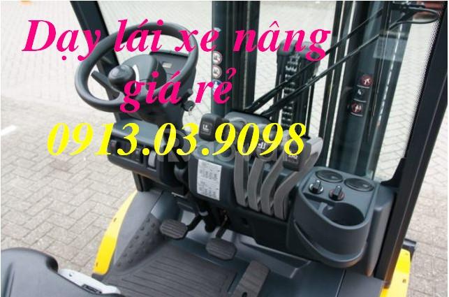 Cấp bằng lái xe nâng chất lượng tại Long Thành Đồng Nai