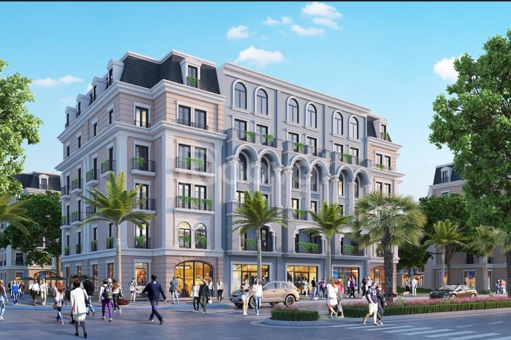 Aqua City Hạ Long shophouse giá 45tr/m2