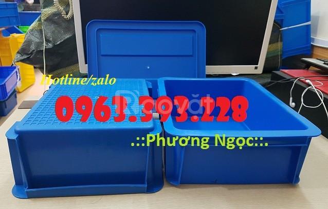 Thùng nhựa đặc B7, hộp nhựa đựng linh kiện